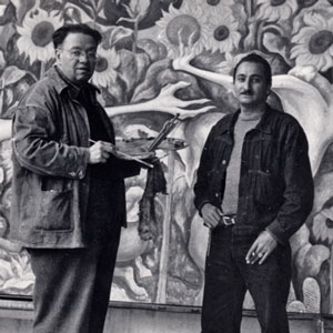 DeGrazia and Diego Rivera