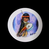 Pima Indian Drummer Boy Coaster