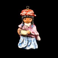 Cooking-Girl-Ornament