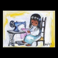 Girl-With-Sewing-Machine