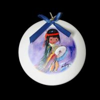 Pima Indian Drummer Boy Ornament