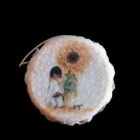 Sunflower-Boy-Drum-Magnet