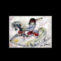 Tile-Rocking-Horse