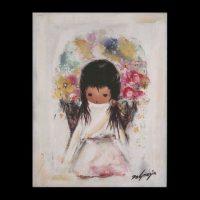 Trivet-Flower-Girl