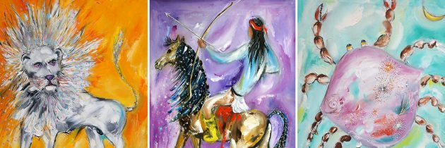 DeGrazia Paints the Signs of the Zodiac