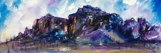 DeGrazia's Superstition Mountain