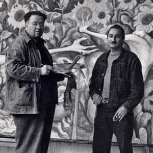 DeGrazia and Diego Rivera