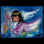 Angel In Flight Trivet