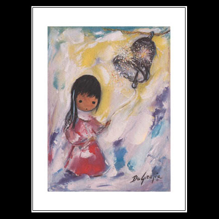 The Bell Of Hope Notecard