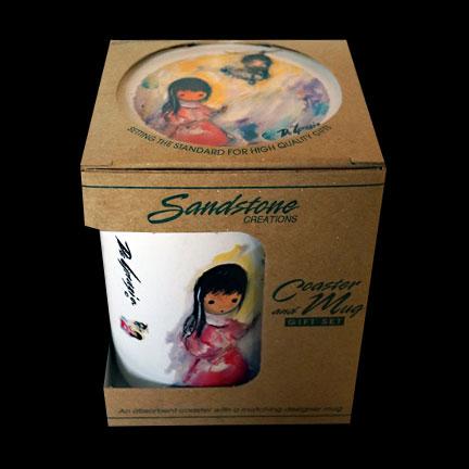 Bell Of Hope Mug & Coaster Set