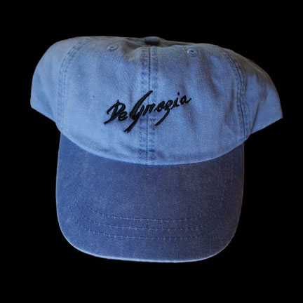 Blue DeGrazia Cap
