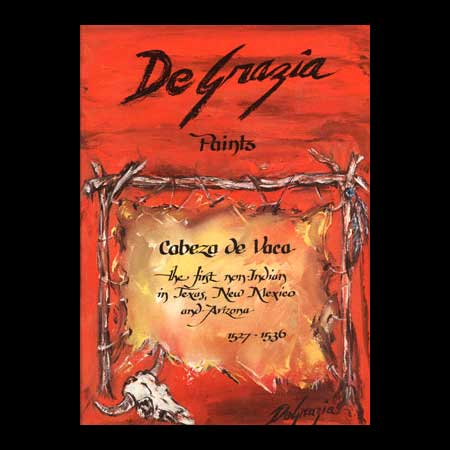 DeGrazia Paints Cabeza De Vaca