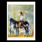 Untitled – Cowboy Rolling A Cigarette