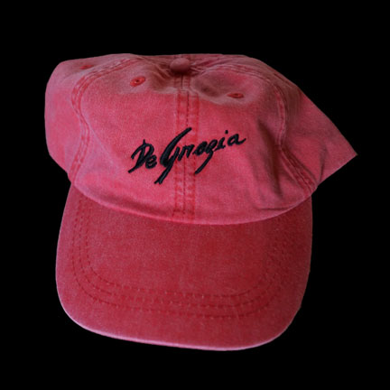 Red DeGrazia Cap