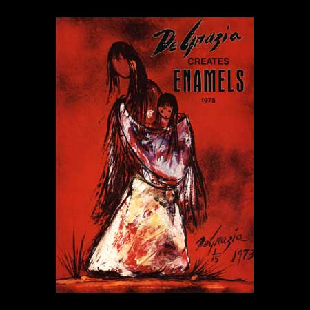 DeGrazia Creates Enamels