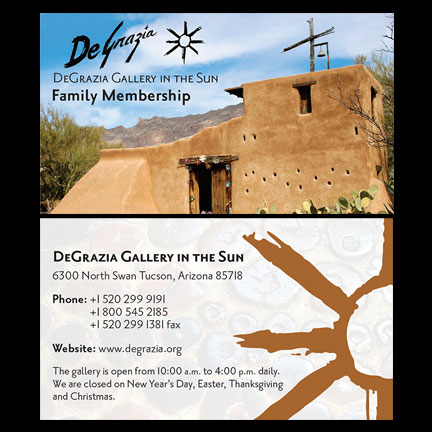 DeGrazia Family Membership