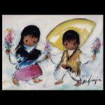 Flower Dance Trivet