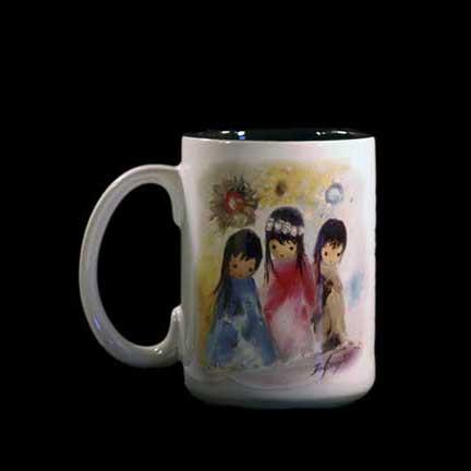 Little Queen & Her Maidens Mug