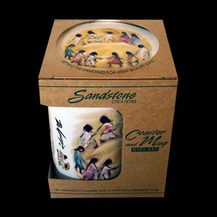 Los Niños Mug & Coaster Set