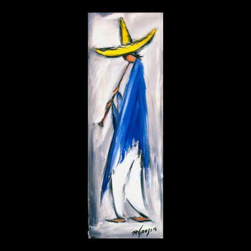 Mariachi In Blue