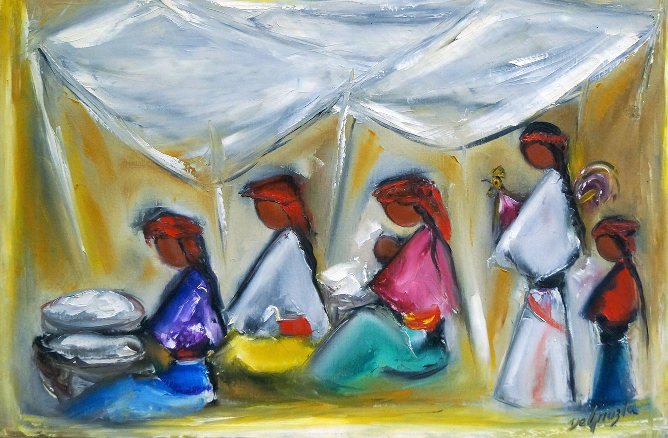 El Mercado – DeGrazia Paints The Marketplace