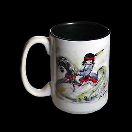 Beautiful Rocking Horse Mug