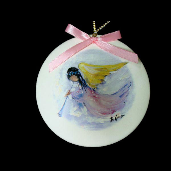Angel In Flight Ornament
