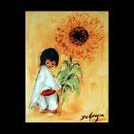 Sunflower Boy Trivet