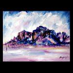 Superstition Mountains Trivet