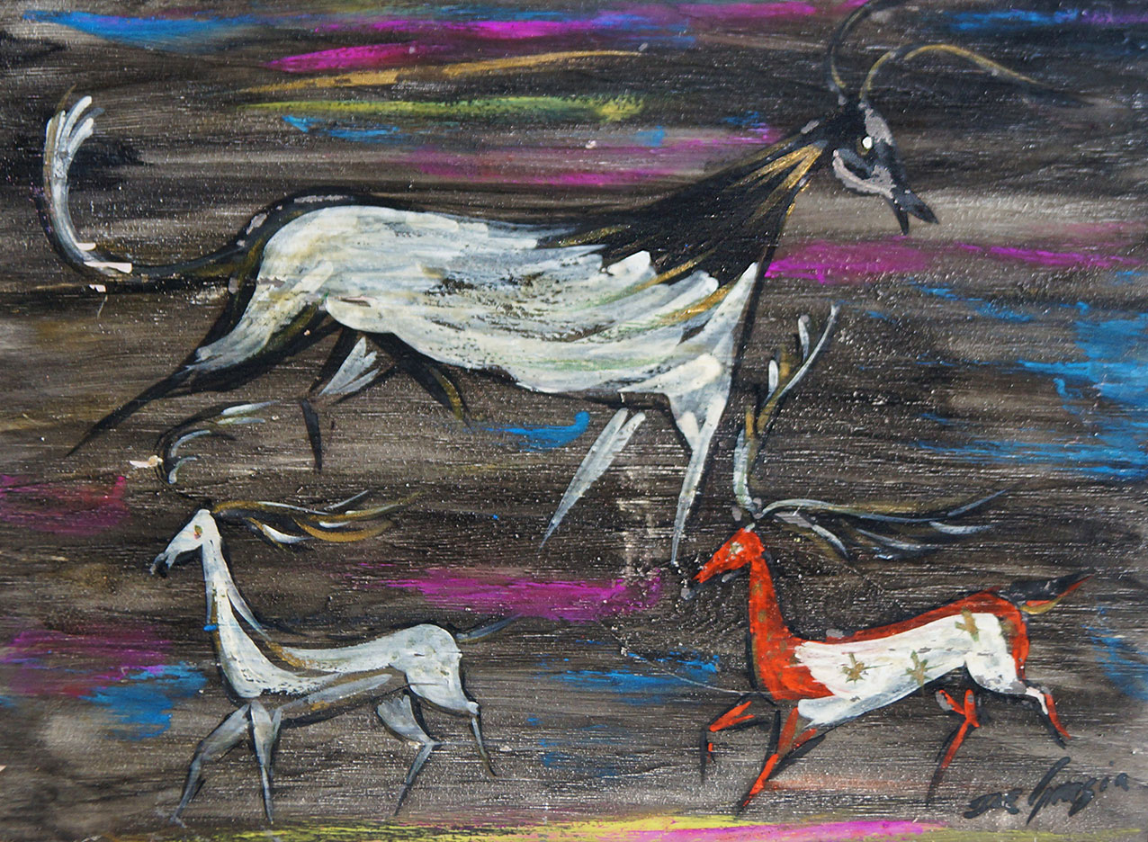Tempera Paintings Of Ted DeGrazia