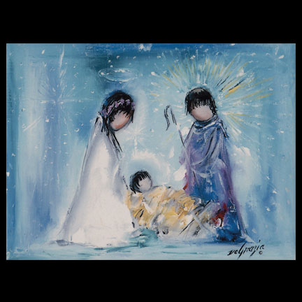 The Nativity Tile