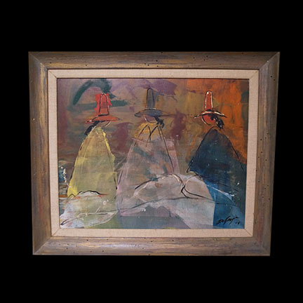 Untitled-Three Navajos