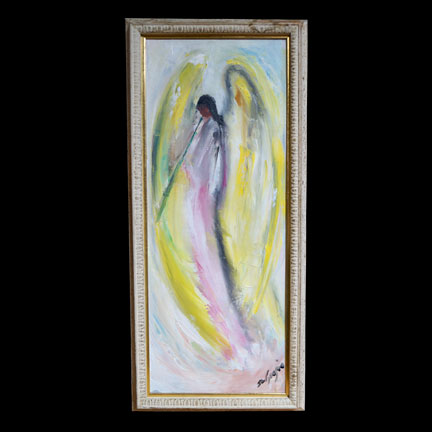 Untitled – Angel With Horn