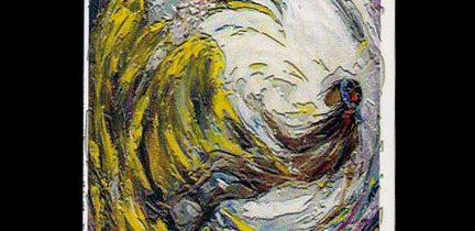 Yellow Buzzard and Earthmaker Magnet