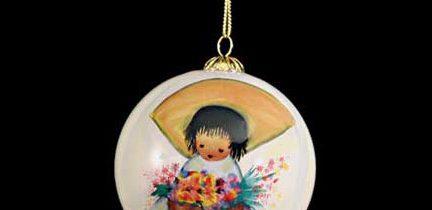 Flower Boy Ornament
