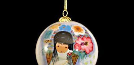 Flower Girl Ornament