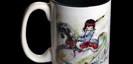 Beautiful Rocking Horse Mug