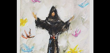 Untitled – Saint Francis with Seven Birds