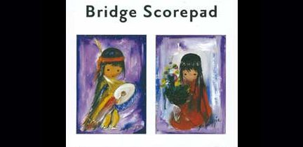 Bridge Score Pads