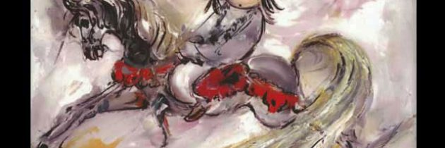 Beautiful Rocking Horse Trivet