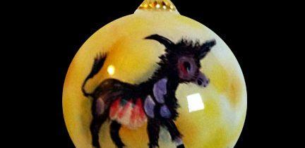 Wandering Burro Ornament