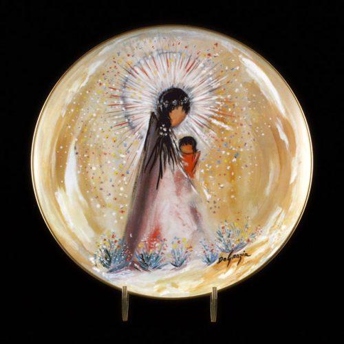 Little Madonna Plate