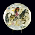 Merry Little Indian Plate