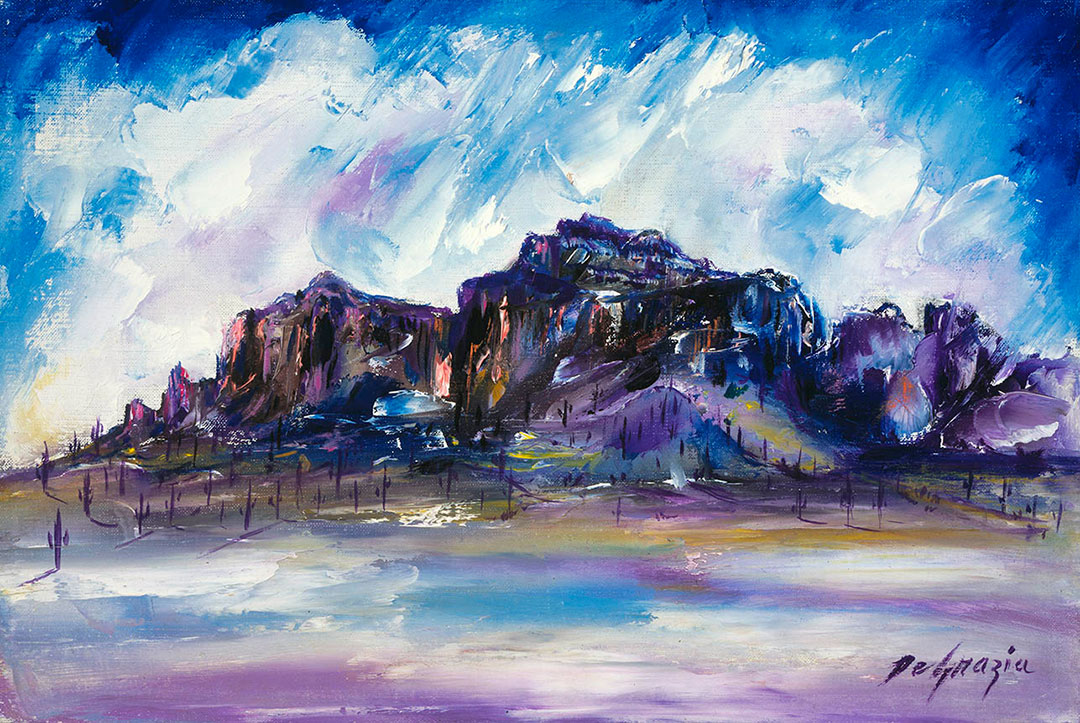 DeGrazia's Superstition Mountain Collection